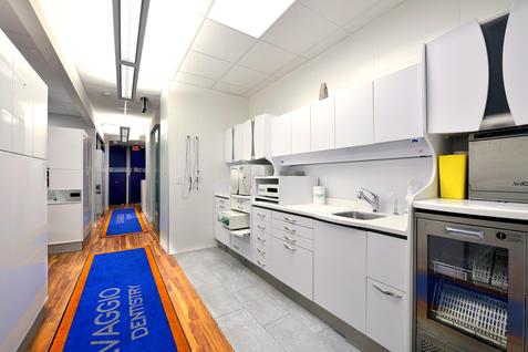 Salvaggio Dentistry sterilization room