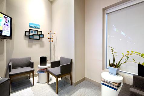 Salvaggio Dentistry waiting area