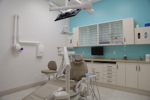 Dentist work area