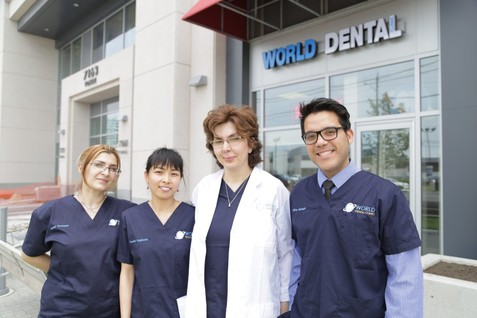 World Dental Clinic staff